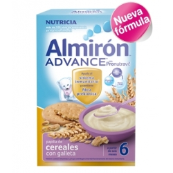 ALMIRÓN ADVANCE CEREALES CON GALLETA 600 GR