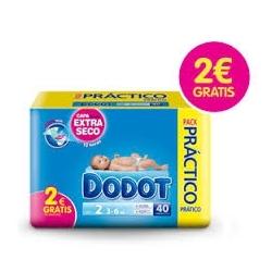 DODOT ETAPAS T2 40 PAÑALES