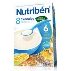 NUTRIBÉN 8 CEREALES EFECTO BÍFIDUS 600 GR