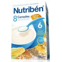 NUTRIBÉN 8 CEREALES CON GALLETA MARÍA 600GR