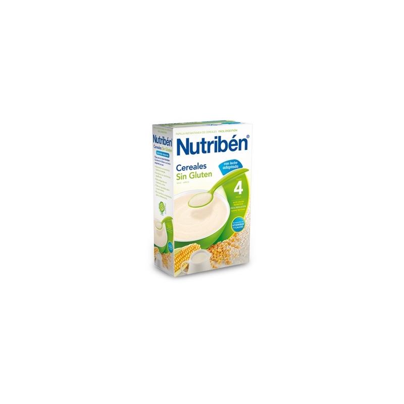 NUTRIBÉN CEREALES SIN GLUTEN CON LECHE ADAPTADA 300 GR