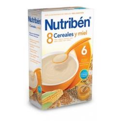 NUTRIBÉN 8 CEREALES Y MIEL 600 GR