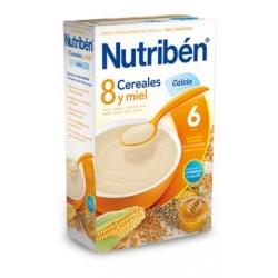 NUTRIBÉN 8 CEREALES Y MIEL CON CALCIO 600 GR