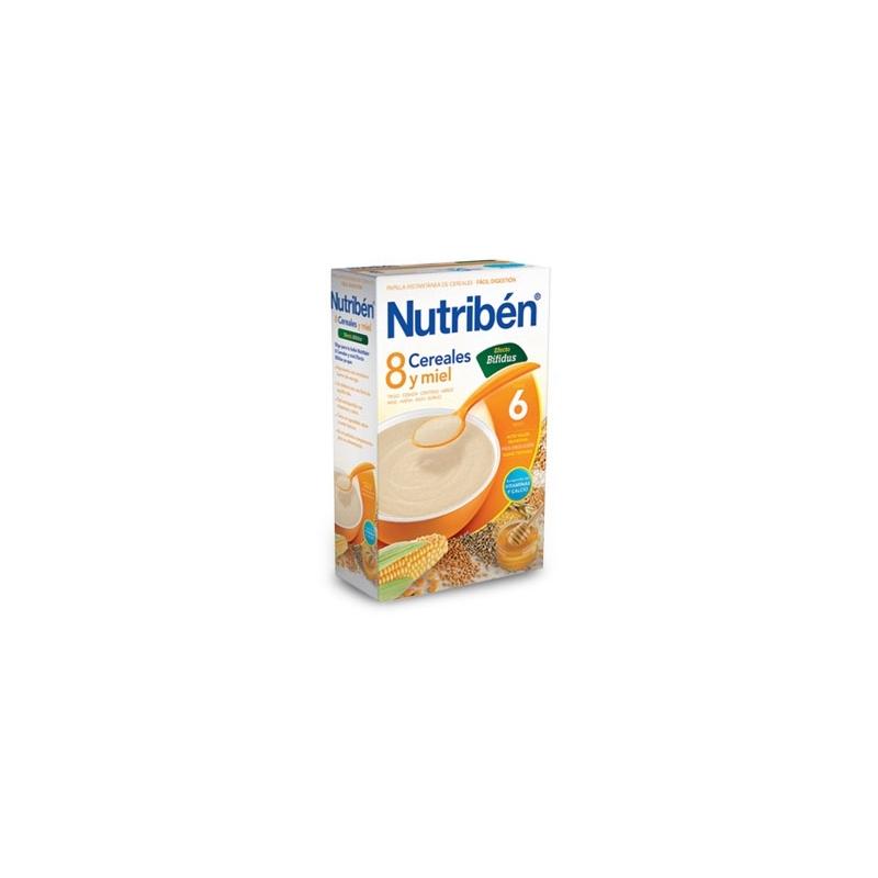 NUTRIBÉN 8 CEREALES MIEL CON EFECTO BÍFIDUS 600 GR