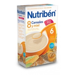 NUTRIBÉN 8 CEREALES MIEN Y FRUTOS SECOS 600 GR