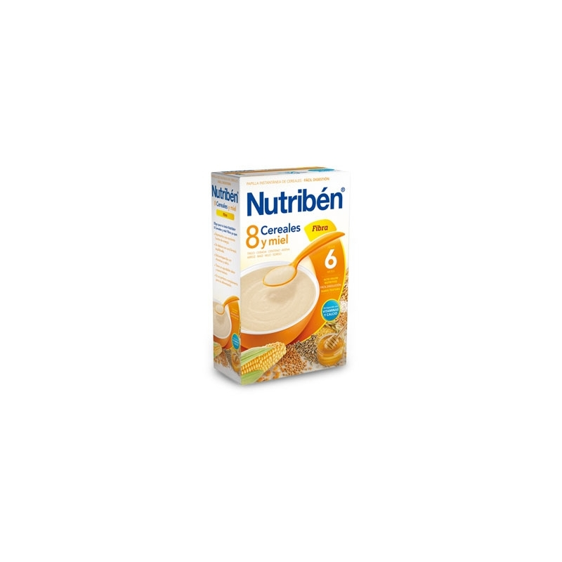 NUTRIBÉN 8 CEREALES MIEL Y FIBRE 600 GR