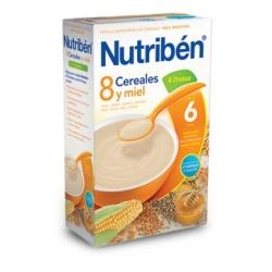 NUTRIBÉN 8 CEREALES MIEL Y 4 FRUTAS 600 GR