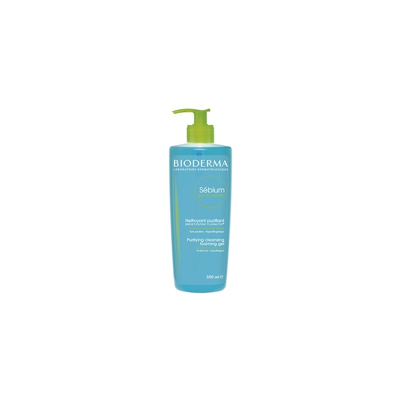 BIODERMA SEBIUM GEL MOUSSANT 500 ML