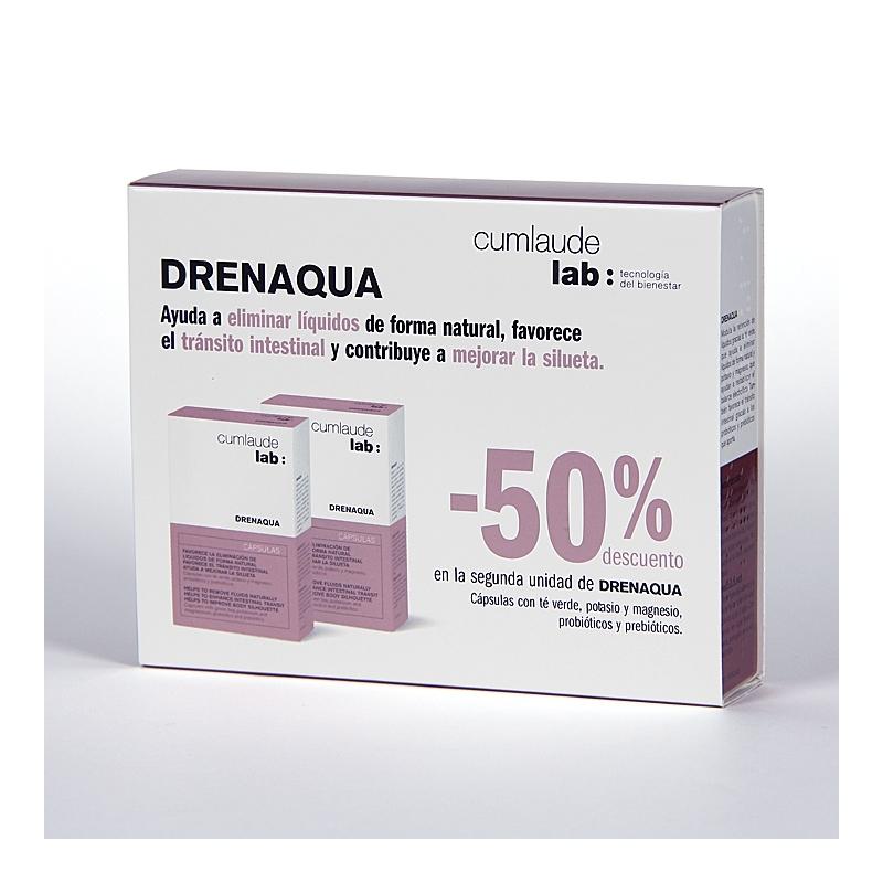 CUMLAUDE DRENAQUA DUPLO 2 X 30 CAPSULAS
