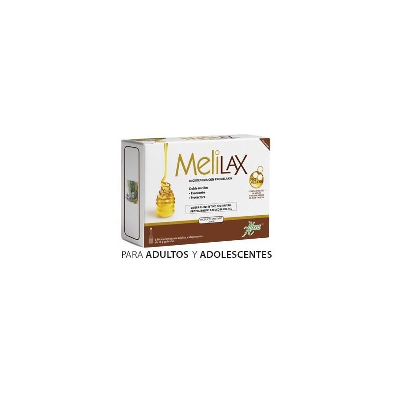 MELILAX MICROENEMAS ADULTOS 6 UNIDADES