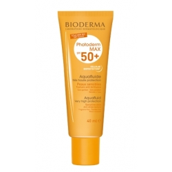 BIODERMA PHOTODERM MAX AQUAFLUIDO INCOLORO SPF 50+ 40ML