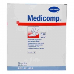 MEDICOMP GADA ESTERIL SUAVES 25X2UNIDADES ( 50 UNIDADES)