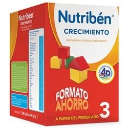 NUTRIBÉN 3 CRECIMIENTO FORMATO AHORRO 1200 GR