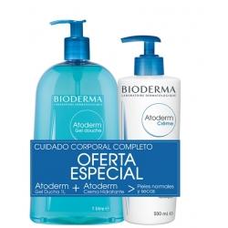 BIODERMA PACK ATODERM GEL DE BAÑO + CREMA CORPORAL