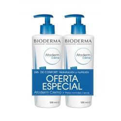 BIODERMA PACK ATODERM DOS CREMAS CORPORALES 2X500ML