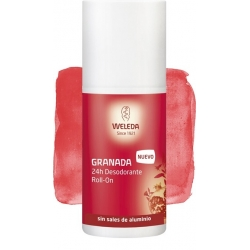 WELEDA DESODORANTE GRANADA ROLL ON 24 HORAS