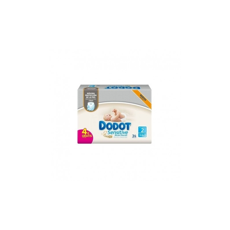 DODOT SENSITIVE TALLA 2 88 UDS