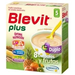 BLEVIT PLUS 8 CEREALES + FRUTAS