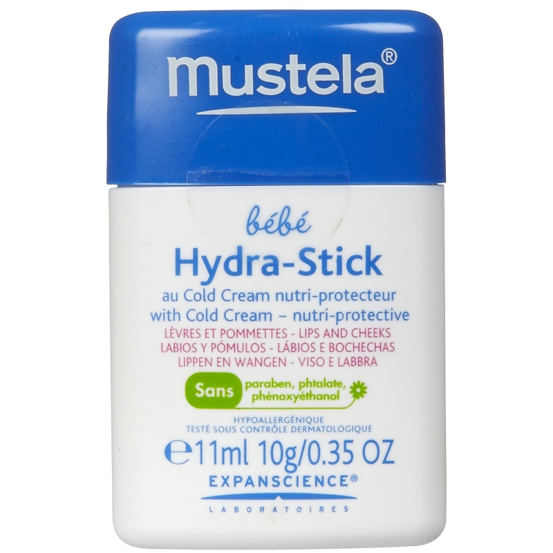 MUSTELA HYDRA-STICK AL COLD CREAM NUTRIPROTECTOR 10 ML