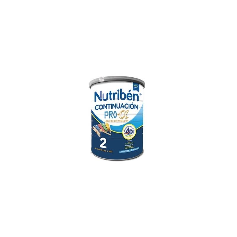NUTRIBÉN LECHE DE CONTINUACIÓN 800 GR