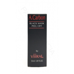 BLACK MASK PEEL-OFF MASCARILLA NEGRA DE CARBON