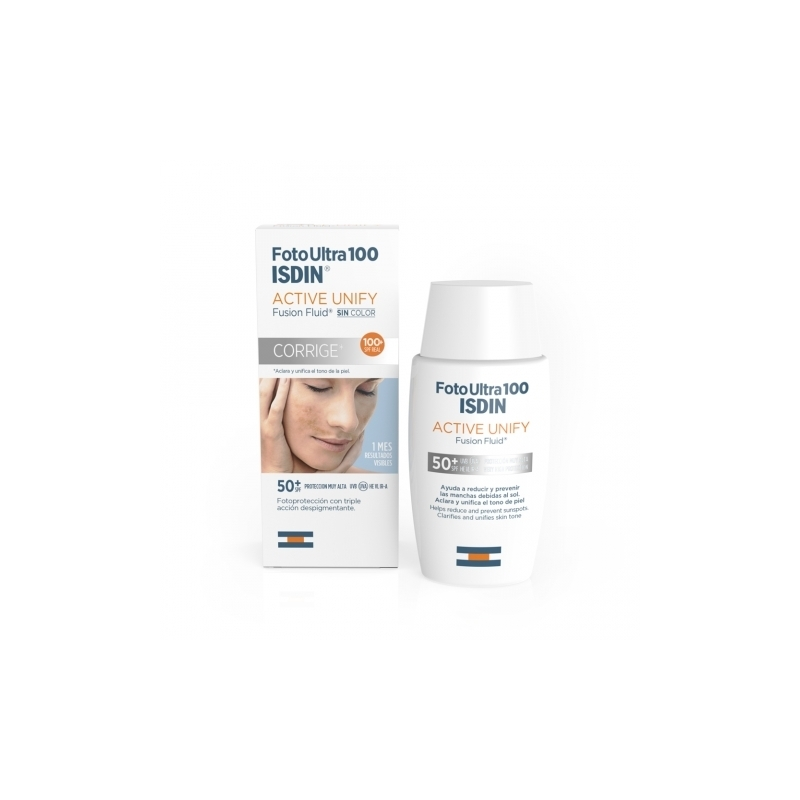 FOTO ULTRA 100 ISDIN ACTIVE UNIFY FUSION FLUID 50 ML