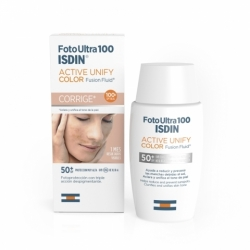 FOTO ULTRA 100 ISDIN ACTIVE UNIFY FUSION FLUID CON COLOR 50 ML