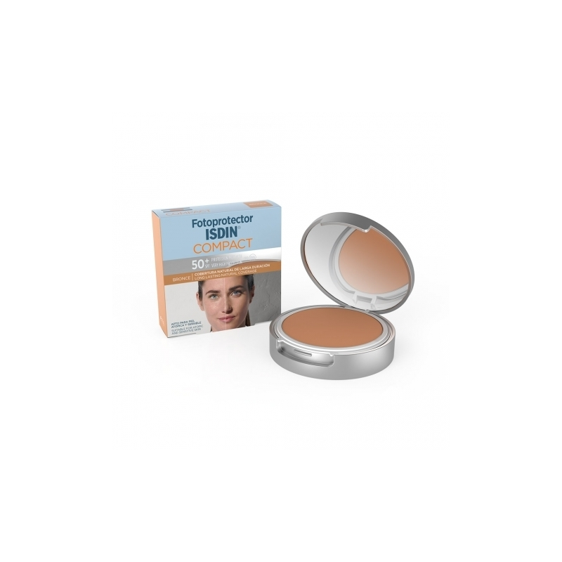 FOTOPROTECTOR ISDIN SPF 50+ COMPACT COLOR BRONCE