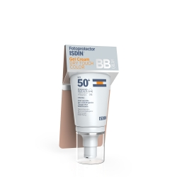 FOTOPROTECTOR ISDIN GEL CREMA DRY TOUCH COLOR SPF 50+ BB CREAM