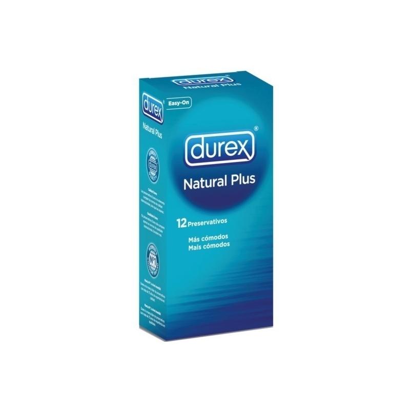 DUREX PRESERVATIVOS NATURAL PLUS EASY ON 24 U