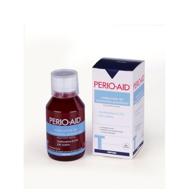 PERIO AID COLUTORIO SIN ALCOHOL 150 ML.