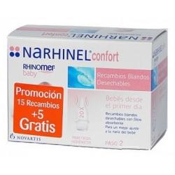 NARHINEL CONFORT RECAMBIOS 20 UDS