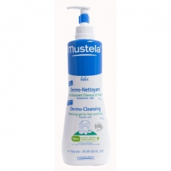 MUSTELA DERMO-CLEANSING 750ML